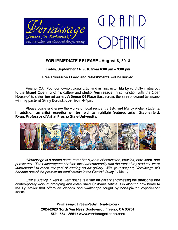 2018-08-08 Vernissage_Press release_Grand Opening