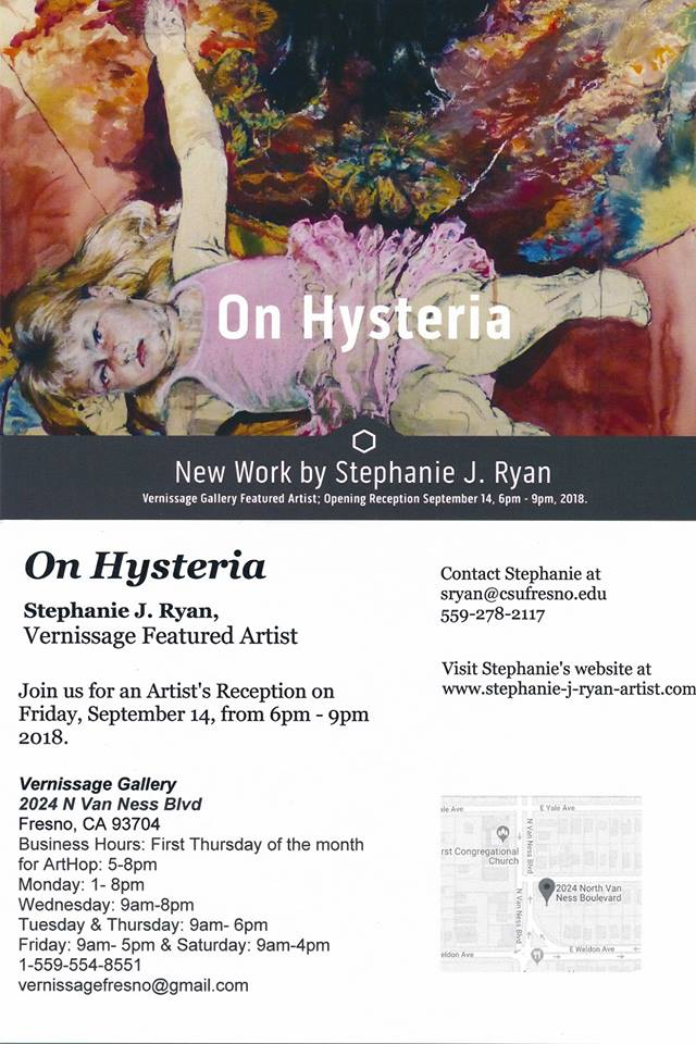stephanie ryan_on hysteria flyer