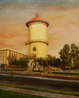 Fresno Water Tower by Ma Ly