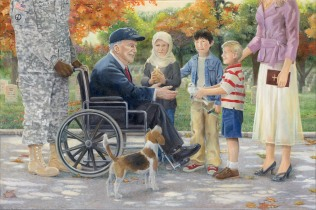 The Gift of Peace by Ma Ly-Fresno California