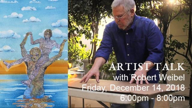 2018-12-14 robert weibel artist talk