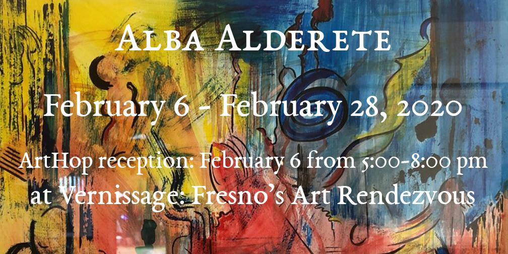 2020-02-05 Alba Alderete_Vernissage Fresno